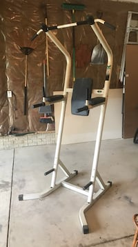 Gray and black elliptical trainer Columbus, 43123