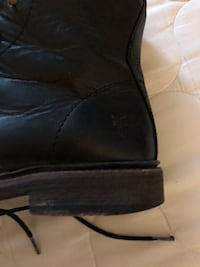 Black Leather Frye Boots Charles Town, 25414
