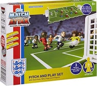 Pitch and Play Football play set box with figures & all accessories  Brampton, L7A 3M5
