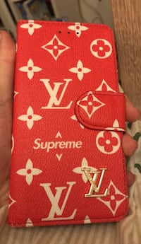 LV Supreme Deksel iPhone 7 pluss Vikersund, 3370