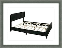 Queen bed platform bed with mattress and delivery McLean