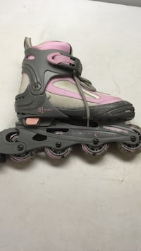 Pair of gray-and-pink inline skates Dartmouth, B2W