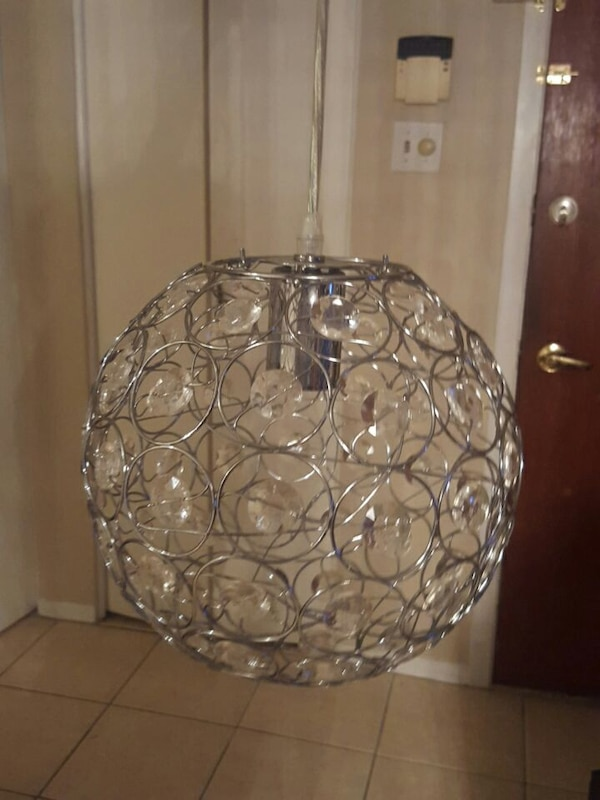 Used Bouclair Light Fixture For In Montreal Letgo