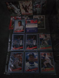 assorted baseball trading card collection Cleveland, 44110