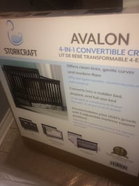Avalon 4 in 1 convertible crib St Catharines, L2M 5S7