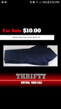 Navy blue mens tie Ellicott City, 21043