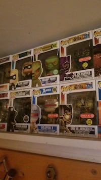 four Pop ! vinyl figures Taneytown, 21787