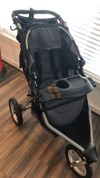 BOB jogging stroller with tray Reston, 20190