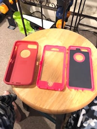 two red and white smartphone cases Cranston, 02920