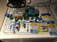 Starter fish tank 1gallon with accessories