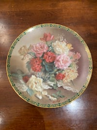 Victorian Beauty Collector Plate