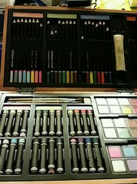 assorted color makeup brush set Olympia, 98506
