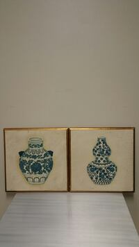 "TWO 18"" square WALL PLAQUES - firm price - Sold as a pair only. Arlington, 22204"
