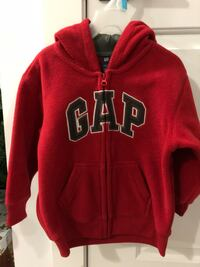 Brand new GAP Red zip-up hoodie Coquitlam, V3J 4V1