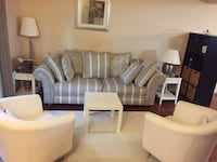 white and gray living room set Naugatuck, 06770
