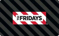TGI Fridays giftcode 50 for 100  Chicago