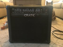 Amplifier by crate