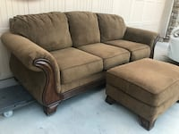 Beautiful Sofa and Ottoman from Ashley's Furniture  Chandler, 85249