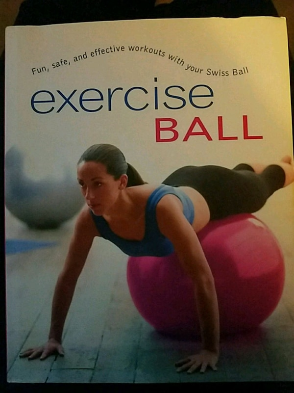 Exercise ball fitness book