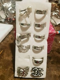 NEW,silver /gold-colored rings Chanel, lot,$8 each London, N6K 2X6