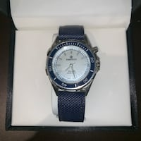 Blue and silver watch with box Brampton, L6P 2P1