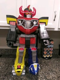2015 Imaginext Power Rangers Morphin Megazord