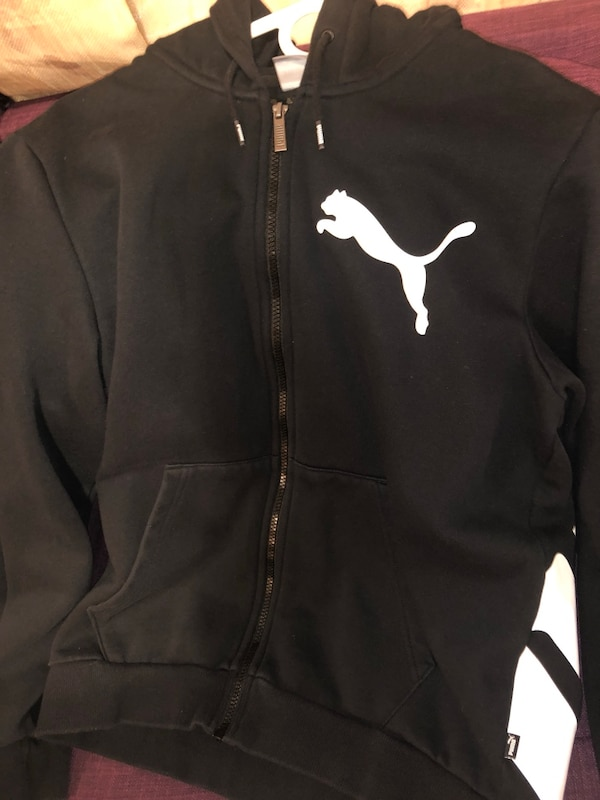 37db2a780 Used Black puma hoodie size M brand new for sale in New York - letgo