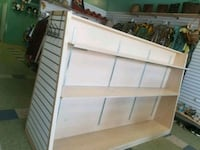 white and brown wooden cabinet Niagara Falls, L2E 3R7