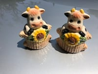 Salt & pepper holder ceramic cute San Jose, 95123