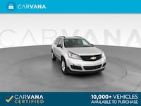 2016 Chevy *Chevrolet* *Traverse* LS Sport Utility 4D suv Dk. Gray Fort Myers