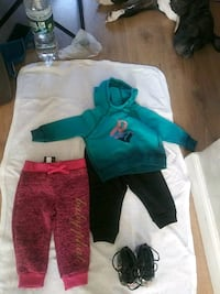 12 months Roca Wear outfit with nike dopes to match babyph sweat pants