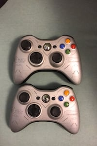 2 Xbox 360 halo reach edition controllers hmu they both with great Anthony, 88021
