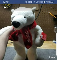 white and red Coca-Cola bear plush toy screenshot