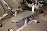 gray and black elliptical trainer SEAFORD