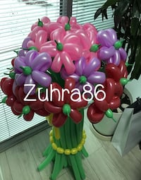 pink and green artificial flower decor Бел Эйр, 21014