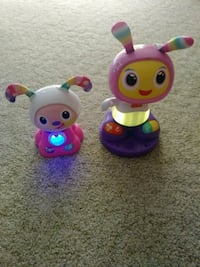 Frisher price dance light up song toys