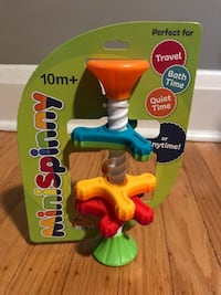 MiniSpinny interactive child's toy, 10m+ by Fat Brain Toy Co Baltimore, 21214