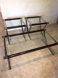 Glass Top Coffee Table and Matching 2 End Tables Clarksburg, 20871