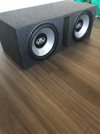 "Dual 12"" Subwoofers with 1000W Autotek AMP Arlington, 22204"