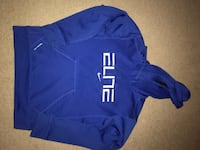 blue and white Victoria's Secret PINK pullover hoodie Omaha, 68135