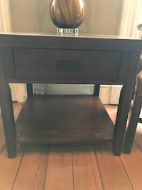 Wood Side Table w/ drawer Baltimore