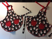 New christmas aprons for kids, $10 each