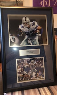 Jason Witten Signed Picture Frame With Authenticity