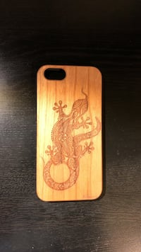Wood carved iphone 6 case