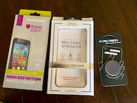 Screen protector, phone case for iPhone 7/8 plus, and pop socket  Austell, 30168
