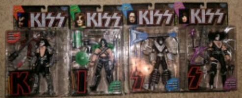 KISS MCFARLANE ACTION FIGURES LOT $50