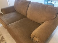Brown 2-seat and 3-seat sofa Flower Mound, 75028