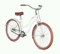 white and red cruiser bicycle Los Angeles, 90011