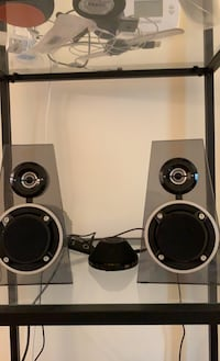 Stereo speakers system