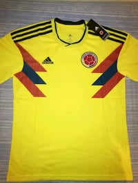 Camiseta colombia.  6113 km